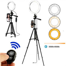 Load image into Gallery viewer, Selfie Ring Lamp Led Ring Light Selfie For Ring Phone Photography Lighting Camera