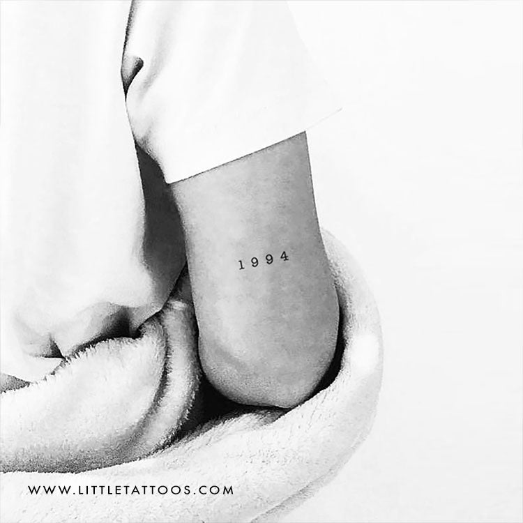 1994 Birth Year Temporary Tattoo - Set of 3