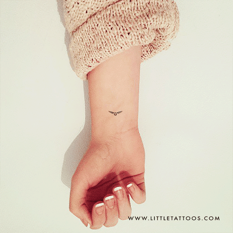 Golden Snitch Temporary Tattoo - Set of 3