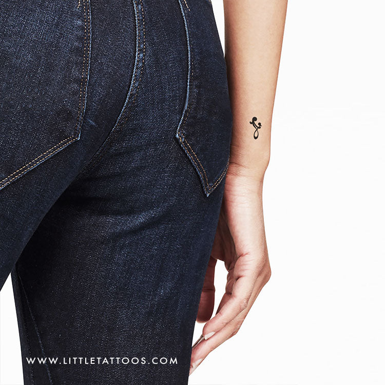 Mother Daughter Symbol Temporary Tattoo - Set of 3