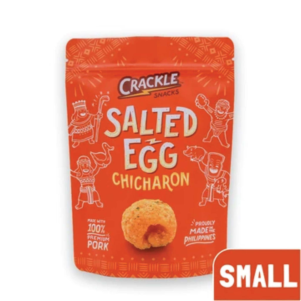 Salted Egg Chicharon - Small | 50g