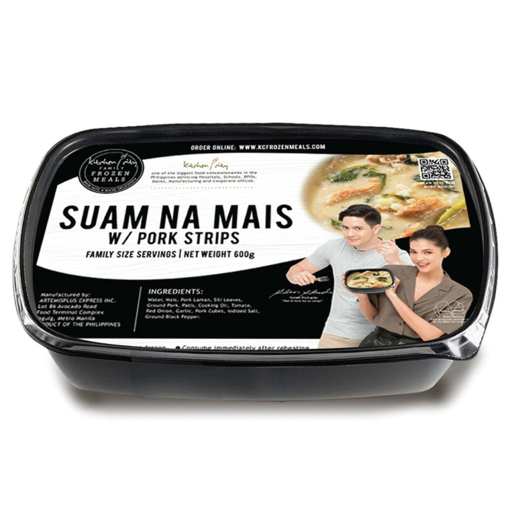 Suam na Mais with Pork Strips
