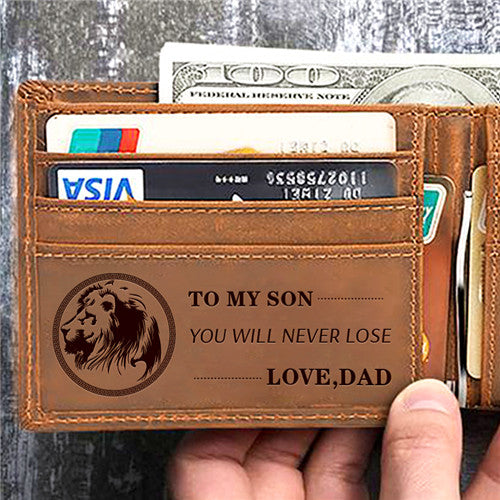 Dad To Son - You Will Never Lose - Wallet
