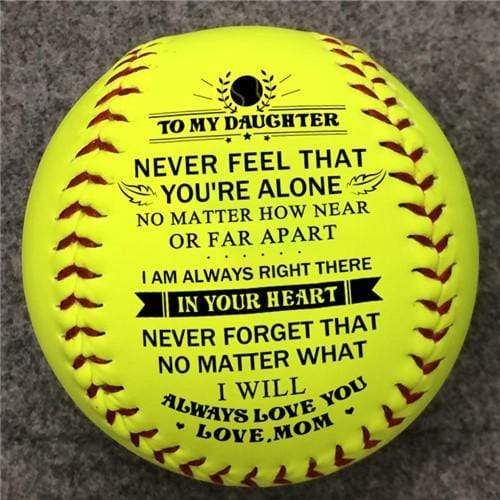 Mom To Daughter - I Will Always Love You - Softball