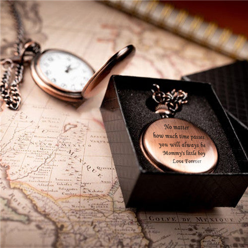 Mom To Son - Time Passes - Pocket watch