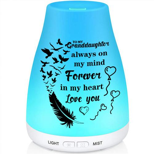 To My Granddaughter - Forever In My Heart - Aroma Lamp