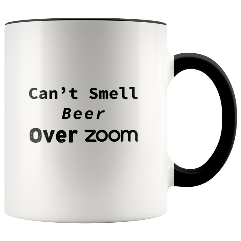 Beer over Zoom - Ceramic Mug