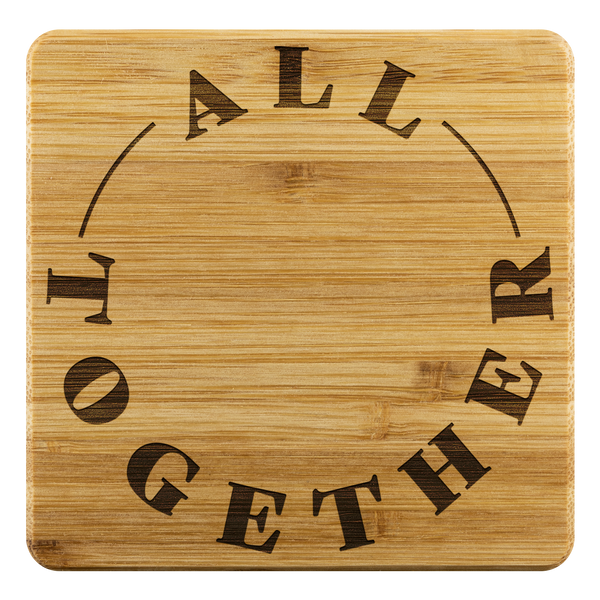 All Together Bamboo Coasters
