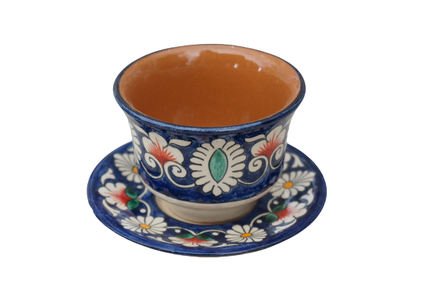 Rishton Plate coffee cup small-TOR44