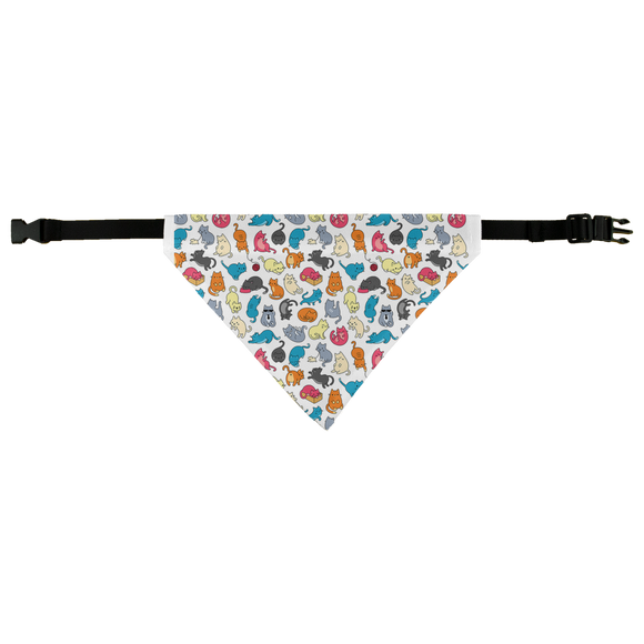 Colorful Cats  - Pet Bandana