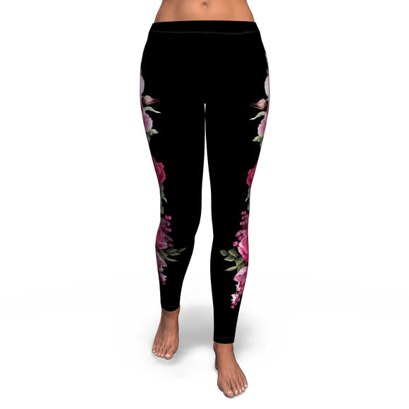 Floral Bouquet - Leggings