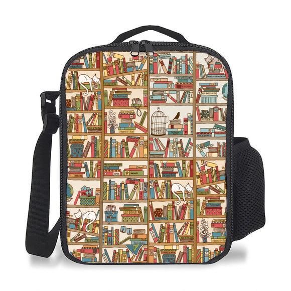 Books - Insulation Lunch Bag