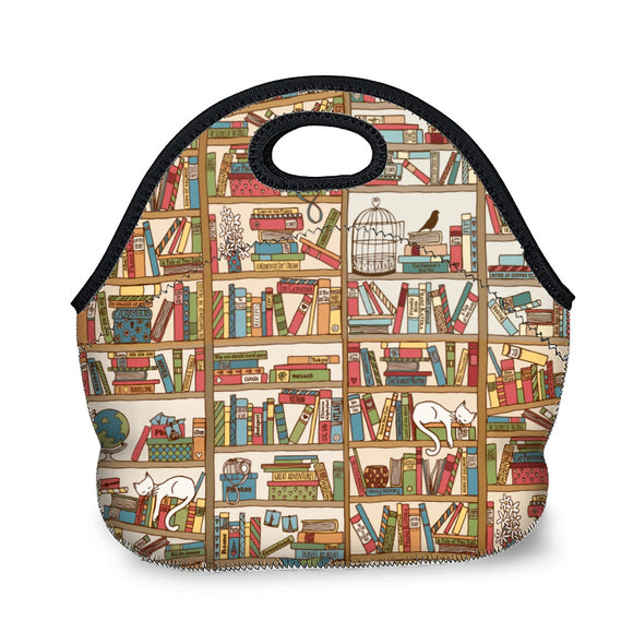 Books - Hand-Held Lunch Bag