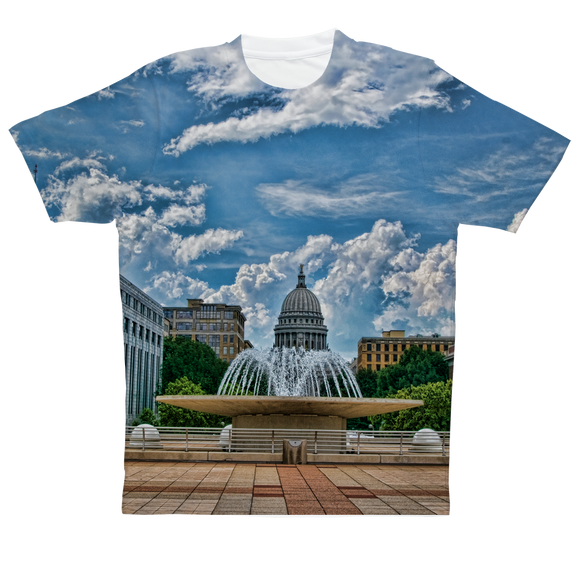Wisconsin Capitol  - Performance Adult T-Shirt