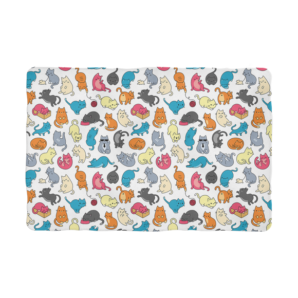 Colorful Cats  - Pet Blanket