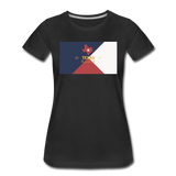 Texas Info Map - Women's Premium T-Shirt - black