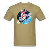 Rocket Girl - Men's T-Shirt - khaki