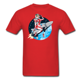 Rocket Girl - Men's T-Shirt - red