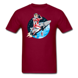 Rocket Girl - Men's T-Shirt - burgundy