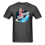 Rocket Girl - Men's T-Shirt - heather black