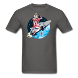 Rocket Girl - Men's T-Shirt - charcoal