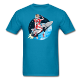 Rocket Girl - Men's T-Shirt - turquoise