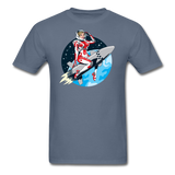 Rocket Girl - Men's T-Shirt - denim