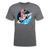 Rocket Girl - Men's T-Shirt - mineral charcoal gray