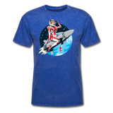 Rocket Girl - Men's T-Shirt - mineral royal