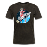 Rocket Girl - Men's T-Shirt - mineral black