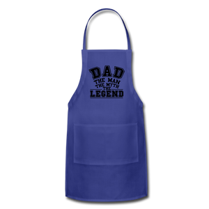 Dad the Legend - Adjustable Apron - natural