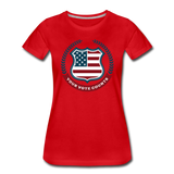 Your Vote Counts - Women's Premium T-Shirt - red