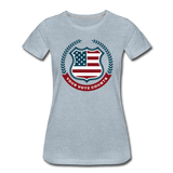 Your Vote Counts - Women's Premium T-Shirt - heather ice blue