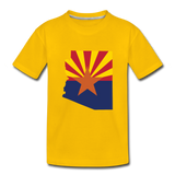 Arizona - Kids' Premium T-Shirt - sun yellow