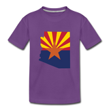 Arizona - Kids' Premium T-Shirt - purple