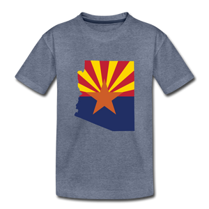 Arizona - Kids' Premium T-Shirt - heather blue