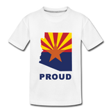 "Arizona ""PROUD"" - Kids' Premium T-Shirt - white"
