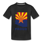 "Arizona ""PROUD"" - Kids' Premium T-Shirt - black"