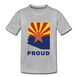 "Arizona ""PROUD"" - Kids' Premium T-Shirt - heather gray"