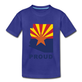 "Arizona ""PROUD"" - Kids' Premium T-Shirt - royal blue"