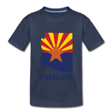 "Arizona ""PROUD"" - Kids' Premium T-Shirt - navy"