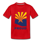 "Arizona ""PROUD"" - Kids' Premium T-Shirt - red"