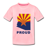"Arizona ""PROUD"" - Kids' Premium T-Shirt - pink"