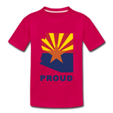 "Arizona ""PROUD"" - Kids' Premium T-Shirt - dark pink"