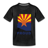 "Arizona ""PROUD"" - Kids' Premium T-Shirt - charcoal gray"