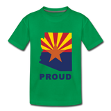 "Arizona ""PROUD"" - Kids' Premium T-Shirt - kelly green"