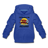 I'd Rather Be Flying - Biplane - Kids' Premium Hoodie - royal blue