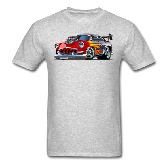 Hot Rod - Retro - Unisex Classic T-Shirt - heather gray
