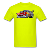 Hot Rod - Retro - Unisex Classic T-Shirt - safety green
