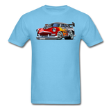 Hot Rod - Retro - Unisex Classic T-Shirt - aquatic blue